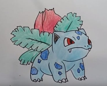 How to draw ivysaur From pokemon