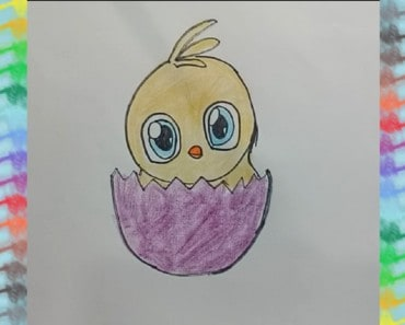 how-to-draw-an-easter-chick-step
