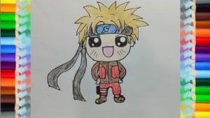 How To Draw A Kawaii NARUTO