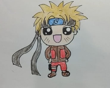 How To Draw A Kawaii NARUTO