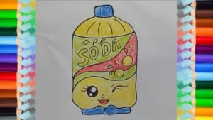 How To Draw Funny Soda easy and cute