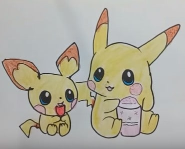 How to Draw Pikachu Step by Step - Pokemon Go - Pikachu pokemon funny Drawing