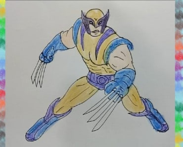 how-to-draw-Wolverine-from-MARVEL-Contest-of-Champions-step