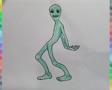 How to draw Dance aliens