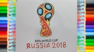 How to Draw the FIFA WORLD CUP RUSSIA 2018 Logo