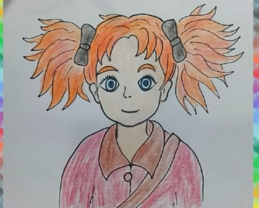 How to draw MARY AND THE WITCH'S FLOWER