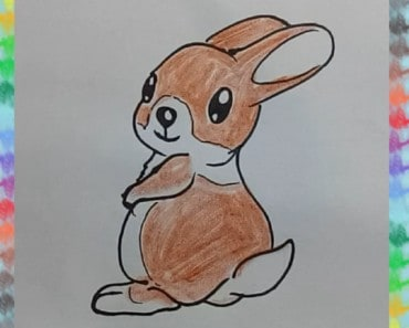 How to draw cute bunny