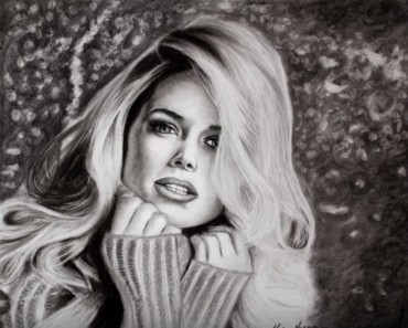Doutzen Kroes drawing