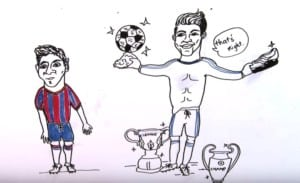Draw my life -  ronaldo - Football star