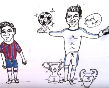Draw my life - ronaldo - Football star