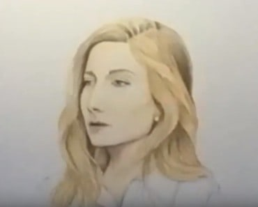 How to draw Jackie Evancho