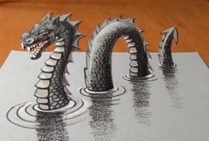 How to make dragon out of paper tutorial 3D origami - YouTube | 203x300