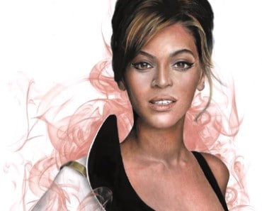 How to draw beyonce step by step