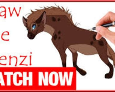 How to draw shenzi from the lion king