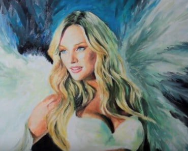 Candice swanepoel drawing