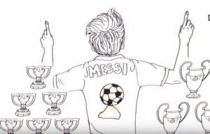 Lionel Messi Draw My Life