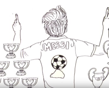 Lionel Messi Draw My Life