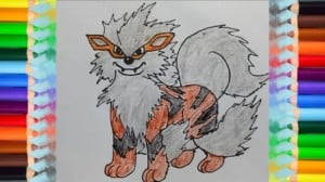how-to-draw-Arcanine-from-Pokemon