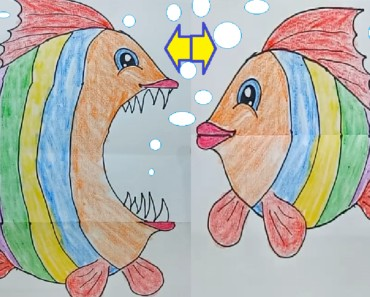 Desene amuzante , funny pictures, toothy picture - Fish drawing project