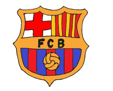How to Draw the FC Barcelona Logo step by step easy