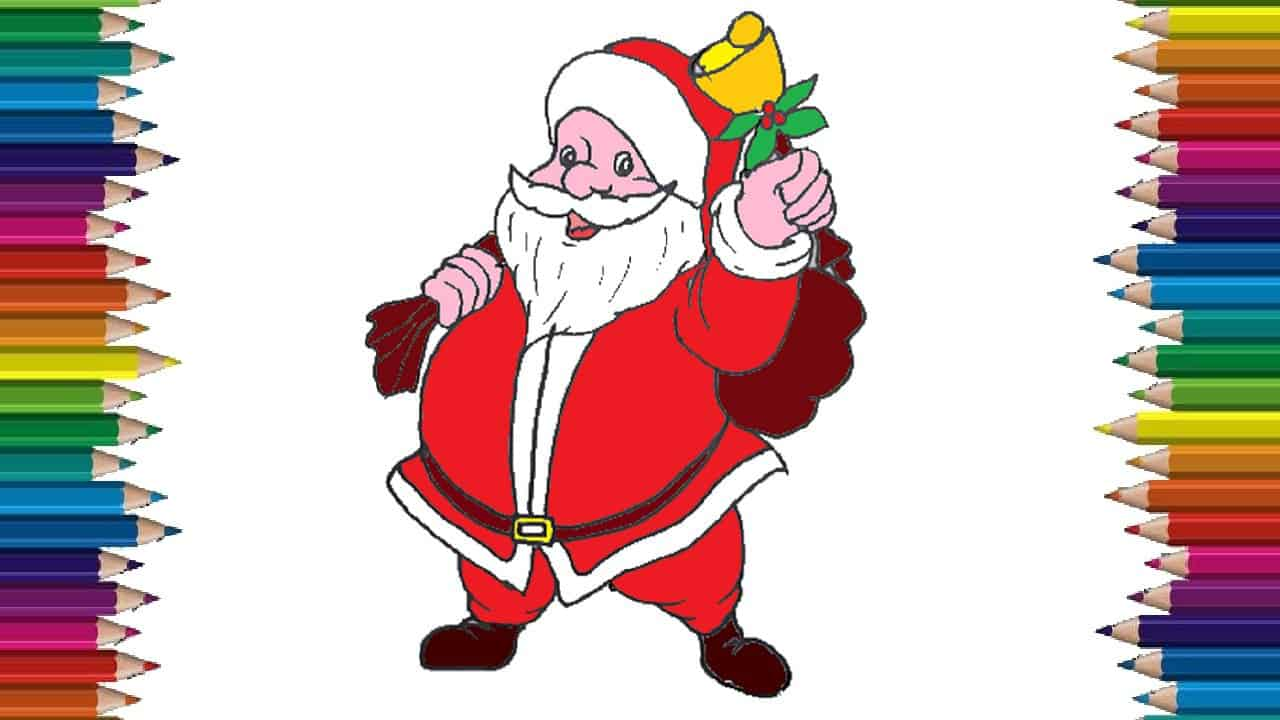how to draw santa claus cute and easy step by step draw santa claus cute and easy step