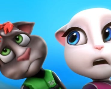 Funny Talking Tom and Talking Angela and Friends in Holiday Moments
