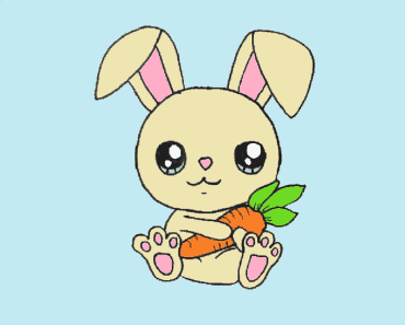 How To Draw A Cute Rabbit Archives How To Draw Step By Step