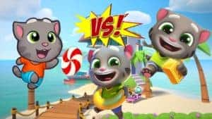 Talking tom gold run vs Talking tom pool vs Talking tom candy - My Talking tom trailer official [HD]
