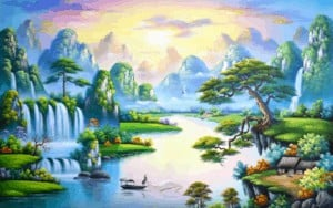 How To Draw A Landscape Step By Step Landscape Painting Easy For Beginners