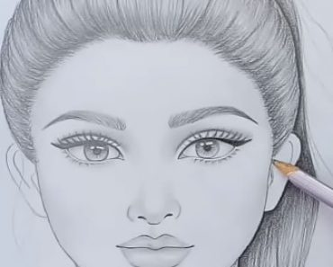 Girl Drawing Step By Step Archives How To Draw Step By Step