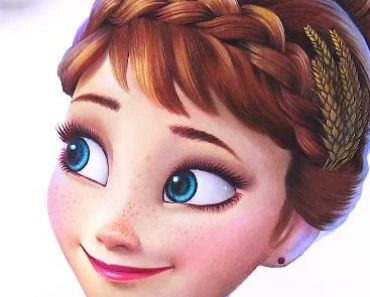 How to draw Anna from the Disney movie Frozen 2