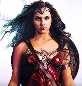 How To Draw Wonder Woman From The Movie Wonder Woman 2017