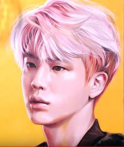 How To Draw Bts Jin By Pencil