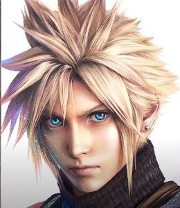 How to draw Cloud Strife from Final Fantasy 7 Remake