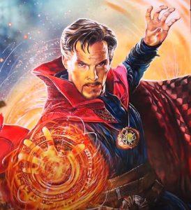 How to draw Doctor Strange(Benedict Cumberbatch)