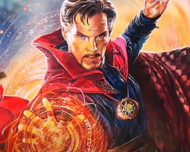 How to draw Doctor Strange(Benedict Cumberbatch)