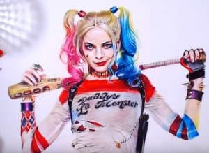 How to draw Harley Quinn(Margot Robbie) realistic