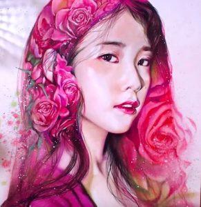 How to draw IU (Lee Ji-eun) by pencil