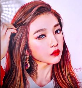 How to draw Joy(Park Soo-young) from Korean girl group Red Velvet.