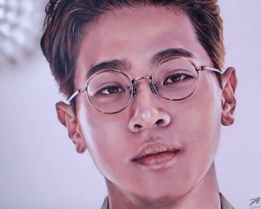 How to draw Park Jung min from movie The Artist - Reborn