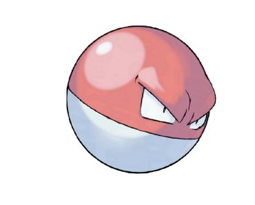 How to draw Voltorb from Pokemon