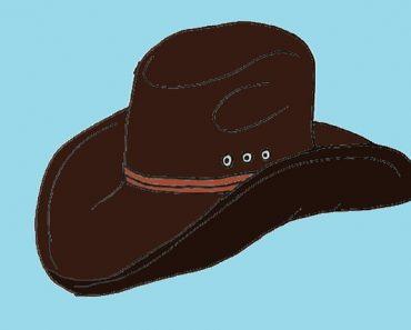 cowboy-hat-drawing