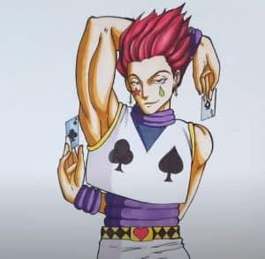 How to Draw Hisoka From Hunter X Hunter