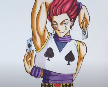 How to Draw Hisoka From Hunter X Hunter