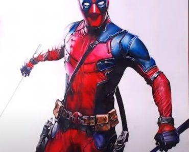 How to draw Deadpool (Wade Wilson)