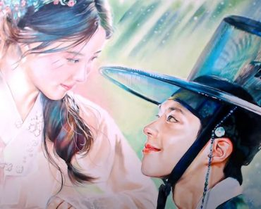 How to draw Lee Yeong and Hong Ra-on from Love in the Moonlight