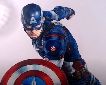 How to draw Steve Rogers from Captain America
