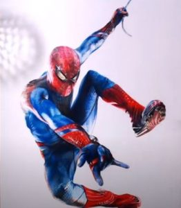 How to draw spider man realistic by colored pencil