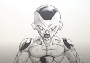 How to Draw Frieza from Dragon Ball Z