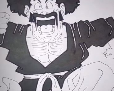 How to Draw Mr.Satan from Dragon Ball Z